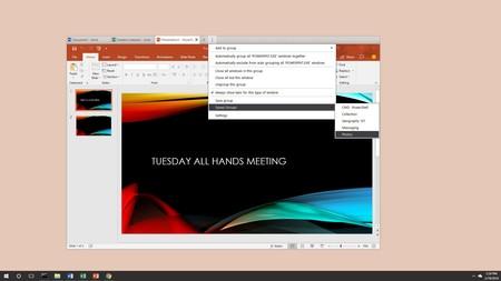 Groupy te permite organizar todas tus aplicaciones de Windows como si fueran pestañas en un navegador