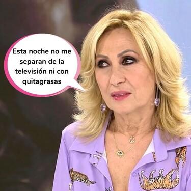 """Rosa Benito desmiente que Rocío Carrasco fuera vetada de la televisión: """"Eso no es verdad, ha seguido trabajando"""""""