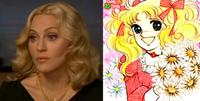 Separados al nacer: Madonna Vs. Candy Candy