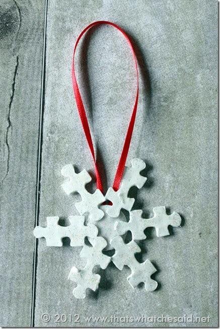Diy Navidad 20 Copo Nieve Puzzle
