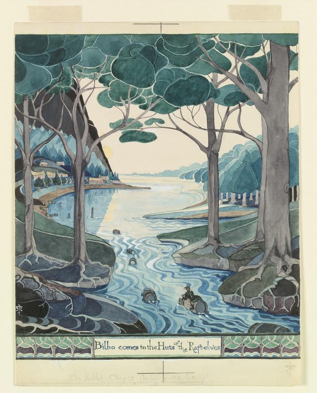 Todo preparado en Oxford para la exposición 'Tolkien: el creador de la Tierra Media'