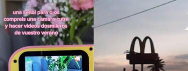 Vídeos de calidad dosmilera grabados con cámaras de juguete: TikTok ya ha llegado a la nostalgia