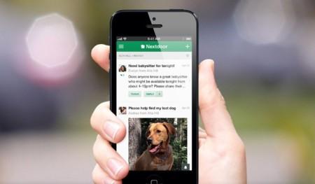 Viento en popa: Nextdoor lanza una aplicación para iOS y se prepara para su expansión global