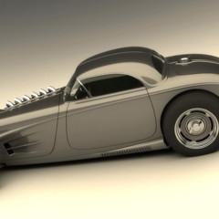 Foto 3 de 7 de la galería vizualtech-33-bomber-style-rod-design en Motorpasión
