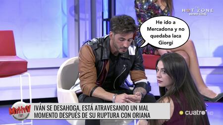 'MyHyV': Iván González confiesa entre lágrimas que ha intimado con Oriana Marzoli después de su ruptura porque sigue enamorado de ella