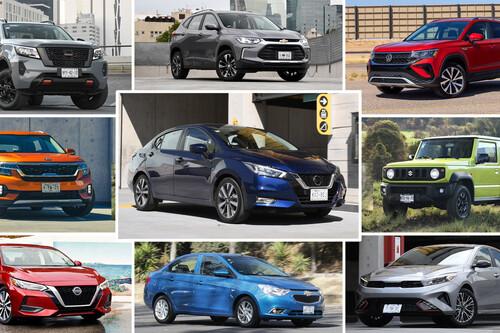 Los autos más vendidos en la primera mitad de 2021 en México: Jetta sale del top 10 y Jimny supera a Vitara