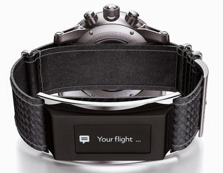 Montblanc anuncia una banda inteligente para relojes
