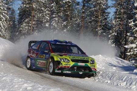 Citroën es la más rápida en el shakedown sueco