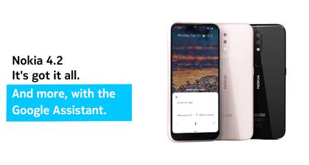 Nokia 1 Plus, Nokia 3.2 y Nokia 4.2: los nuevos smartphones de Nokia llegan con notch de gota y Google Assistant
