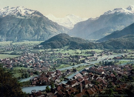 Interlaken And Unterseen Bernese Oberland