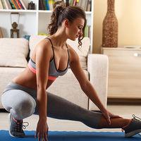 Entrenamiento en casa en media hora para trabajar todo tu cuerpo