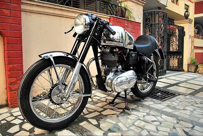 Royal Enfield Bullet Cafe Racer made in India