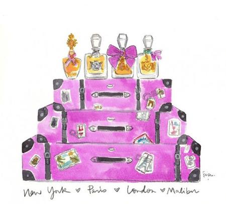 Juicy Couture crea cuatro perfumes Couture inspirados en cuatro ciudades