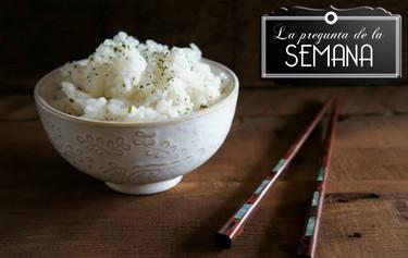 ¿Dónde prefieres cocer el arroz en blanco para que te quede en su punto?