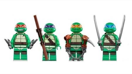 El poder de las Tortugas Ninja llega a Lego