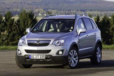 Lavado de cara para el Opel Antara