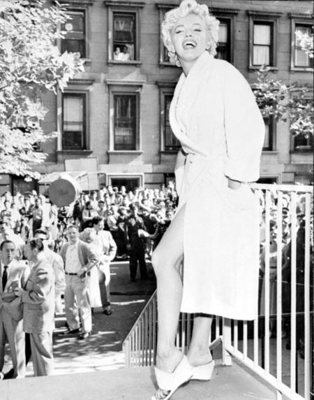 Pierna Marilyn Monroe