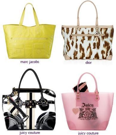 Bolsas de playa a la moda