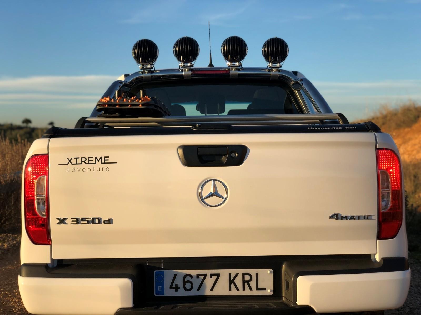 Foto de Mercedes-Benz Clase X 350d 2019 prueba contacto (37/78)