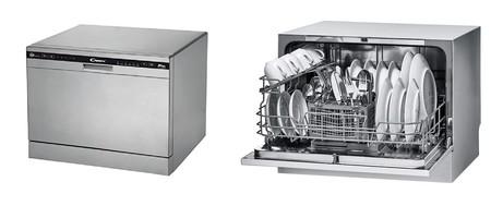 Oferta del día  en el lavavajillas compacto Candy CDCP 6/E-S Mini, que costará 229,99 euros hasta medianoche