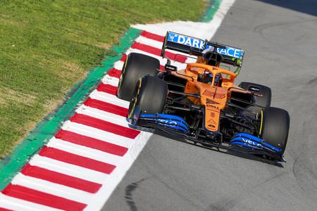 Sainz Barcelona F1 2020