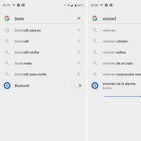 Cómo cambiar ajustes de Android desde la búsqueda de Google con los 'Slices' de Android Pie y un Google Pixel