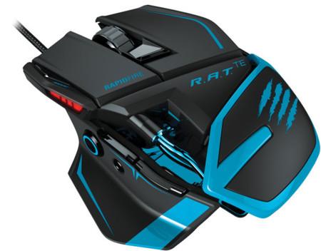 Mad Catz R.A.T. TE, su ratón más ligero para gaming