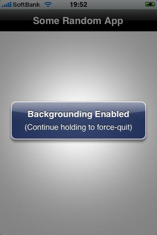 Apple se podría permitir las aplicaciones en segundo plano