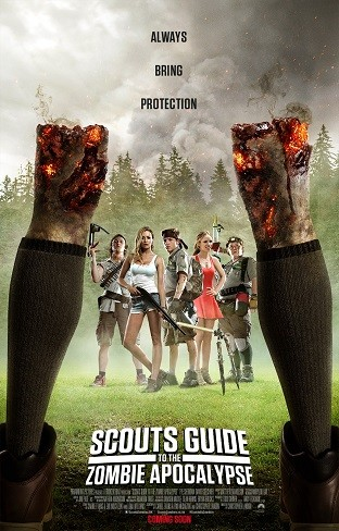 Cartel de 'Scout's Guide To The Zombie Apocalypse'