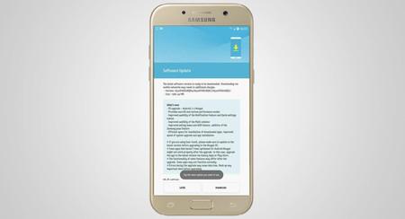 Galaxy A5 2017 empieza a recibir su dosis de Nougat también