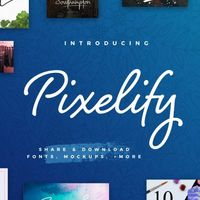 Pixelify, una nueva forma de compartir y descargar recursos gratuitos de diseño