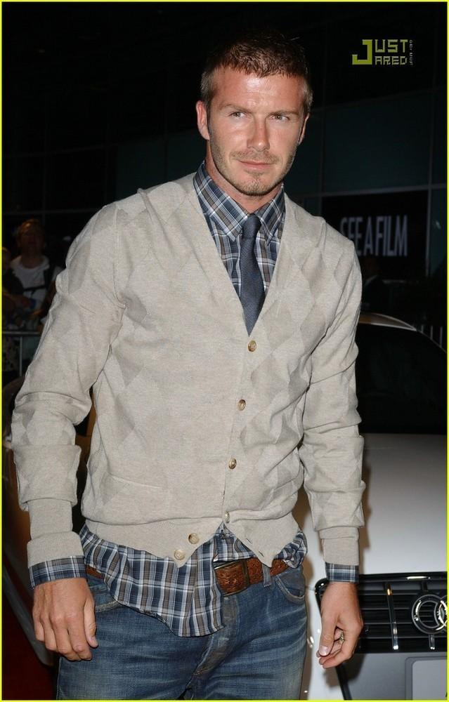 Foto de David Beckham en la première de Lions for Lambs (3/4)