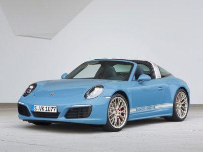 Este Porsche 911 Targa de Porsche Exclusive no es para la policía italiana, a pesar de su decoración