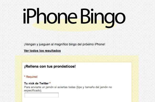 iphone 5 bingo
