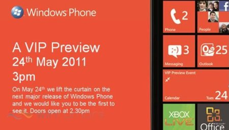 Microsoft prepara un evento Windows Phone 7 el 24 de mayo, ¿y Nokia el 17?