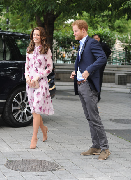 Kate Middleton Vestido Floral Kate Spade 3