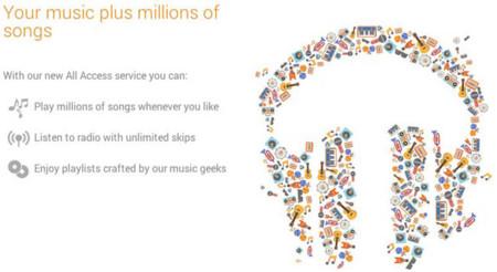 Google Play Music a las puertas de entrar en iOS