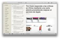 Reeder se prepara para el cierre de Google Reader y ofrece gratuitamente sus versiones para iPad y Mac