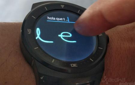 Cómo activar la escritura a mano en Android Wear 2.0