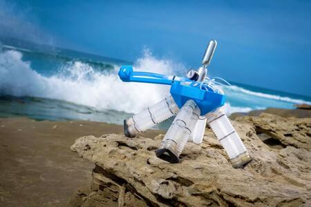 """Este """"robot-tortuga"""" flexible se desplaza y cambia de dirección sin necesidad de electrónica"""