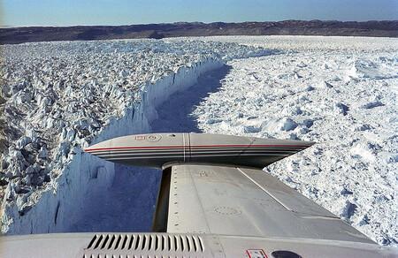 Es probable que el Titanic se hundiera al chocar con un iceberg desprendido del glaciar más rápido: 45 metros por día