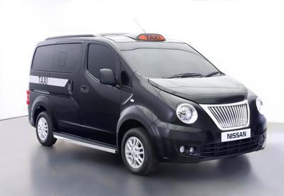 Así es el nuevo Nissan NV200 para los taxis londinenses