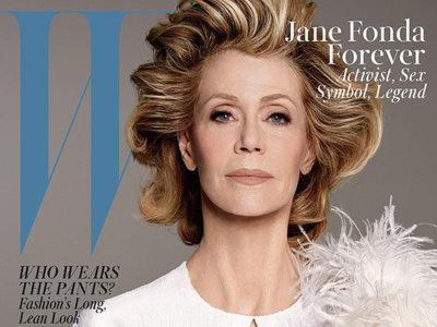 Jane Fonda, la protagonista más longeva que ha posado en portada de la revista W
