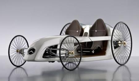 Mercedes F-Cell Roadster, un guiño a la historia del automóvil