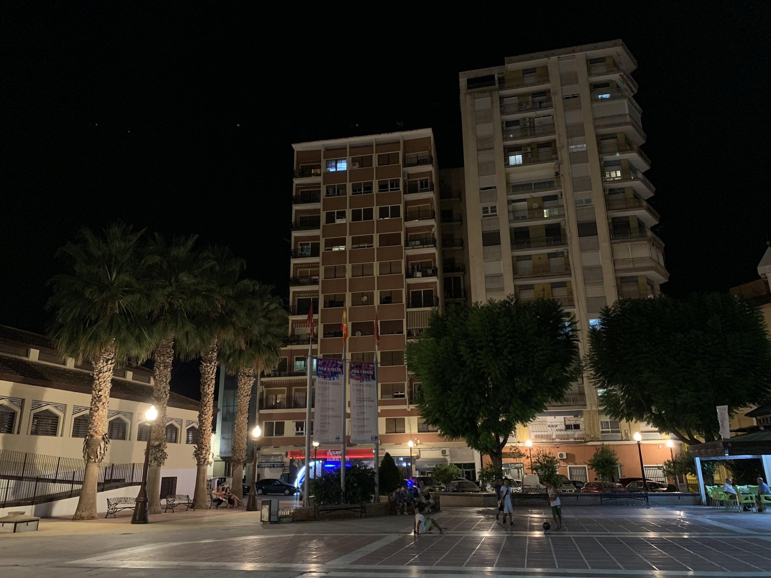 Foto de iPhone XS Max de noche (12/17)