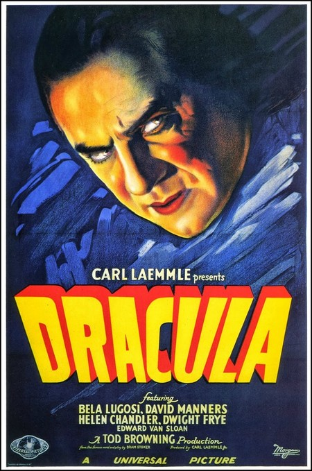 Tod Browning 1931 Dracula Movie Poster