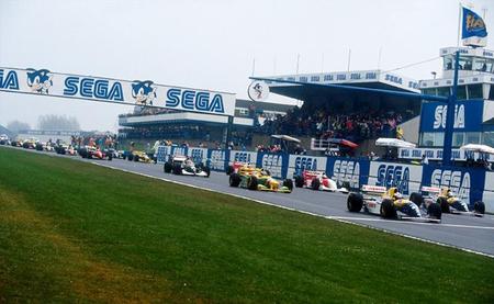 Salida GP Europa F1 1993