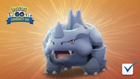 Rhyhorn es votado por los usuarios de Pokémon GO para protagonizar el Día de la Comunidad de febrero