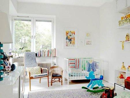 Habitaciones de bebé de estilo nórdico