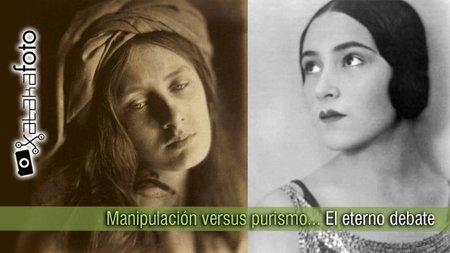 Manipulación versus purismo
